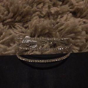 Triple Banded Silver Bracelet